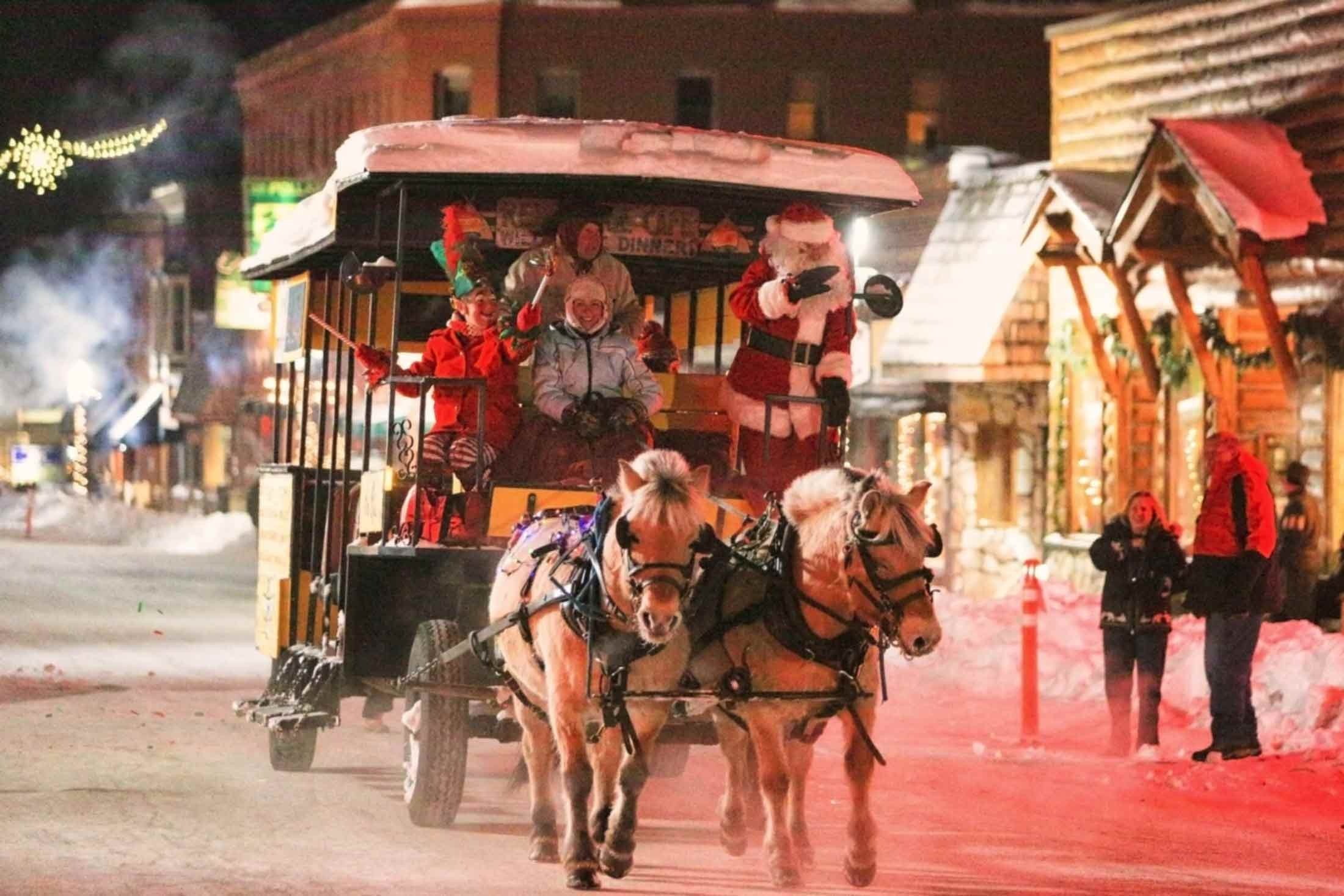 Holiday Parade in Yellowstone Country Montana