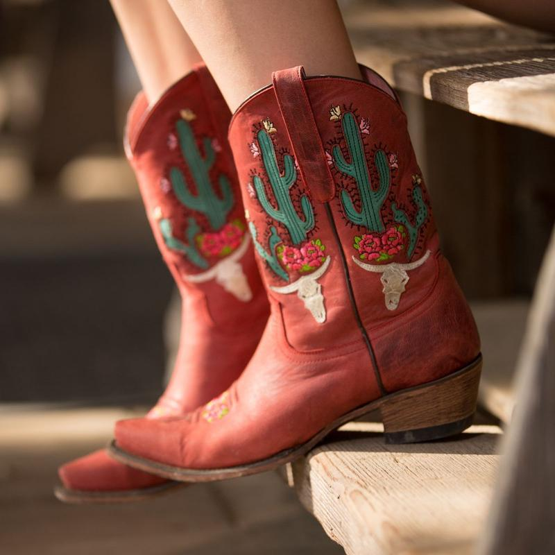 Cowboy boots from Montana Rustic Accents in Columbus Montana located in Yellowstone Country Montana