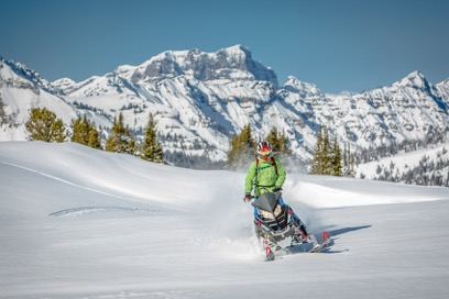 Cooke City Montana Snowmobiling in Yellowstone Country Montana