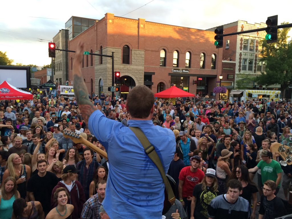 Music on Main in Bozeman, Montana