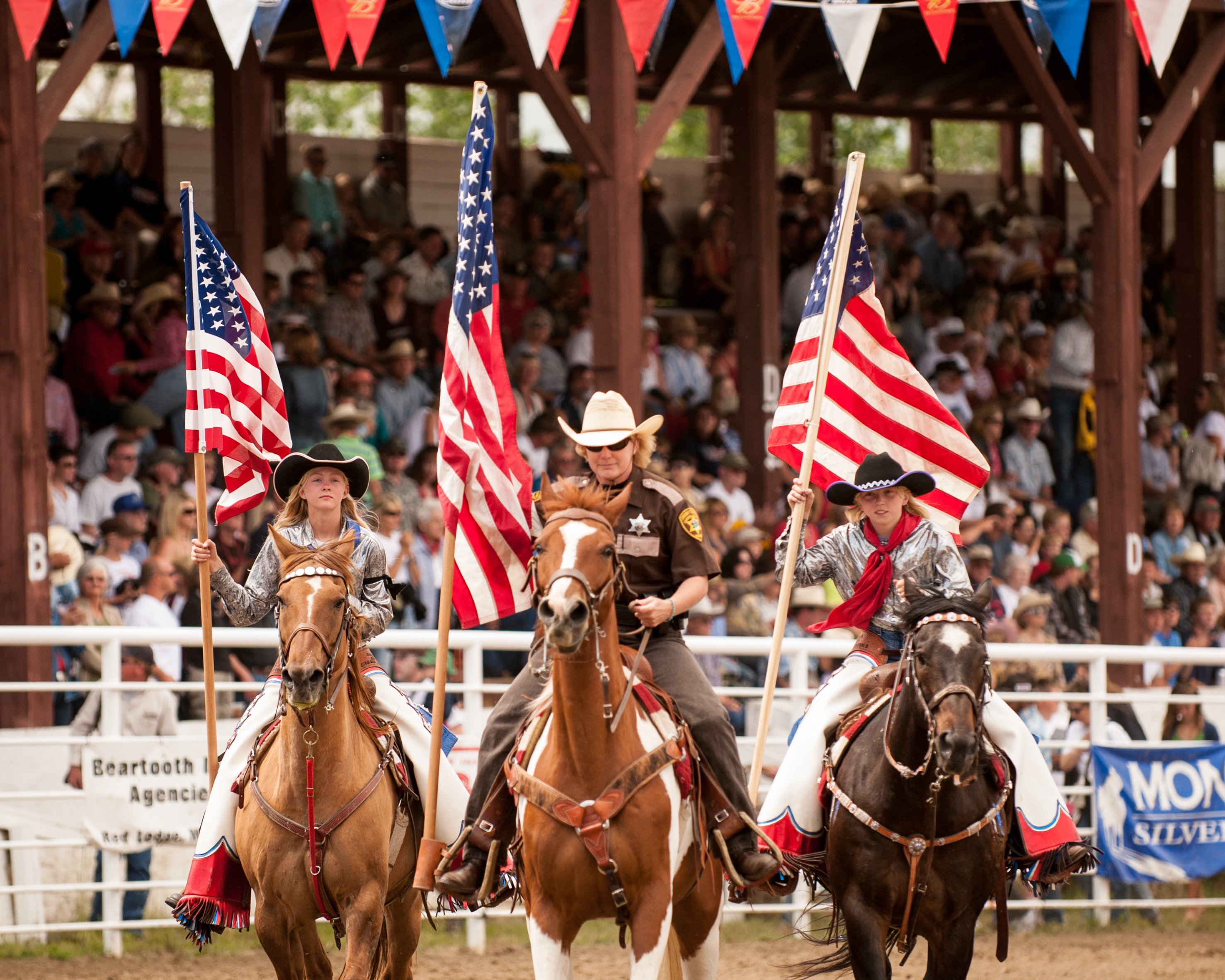 Home of Champions Rodeo & Parade in Red Lodge, Montana in Yellowstone Country Montana