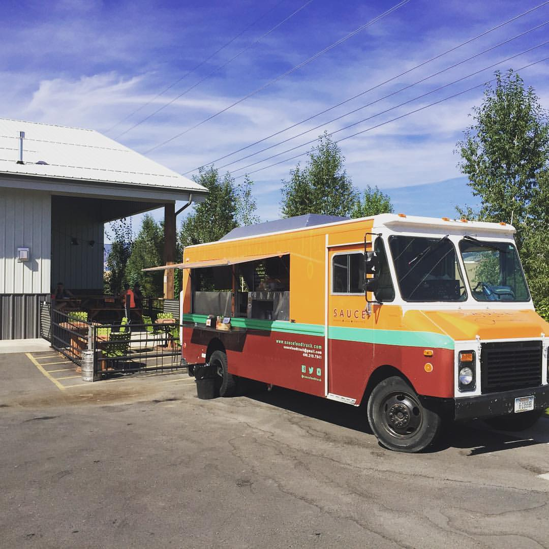 Sauce Food Truck is just one of the many food truck options at various farmers markets across Yellowstone Country Montana