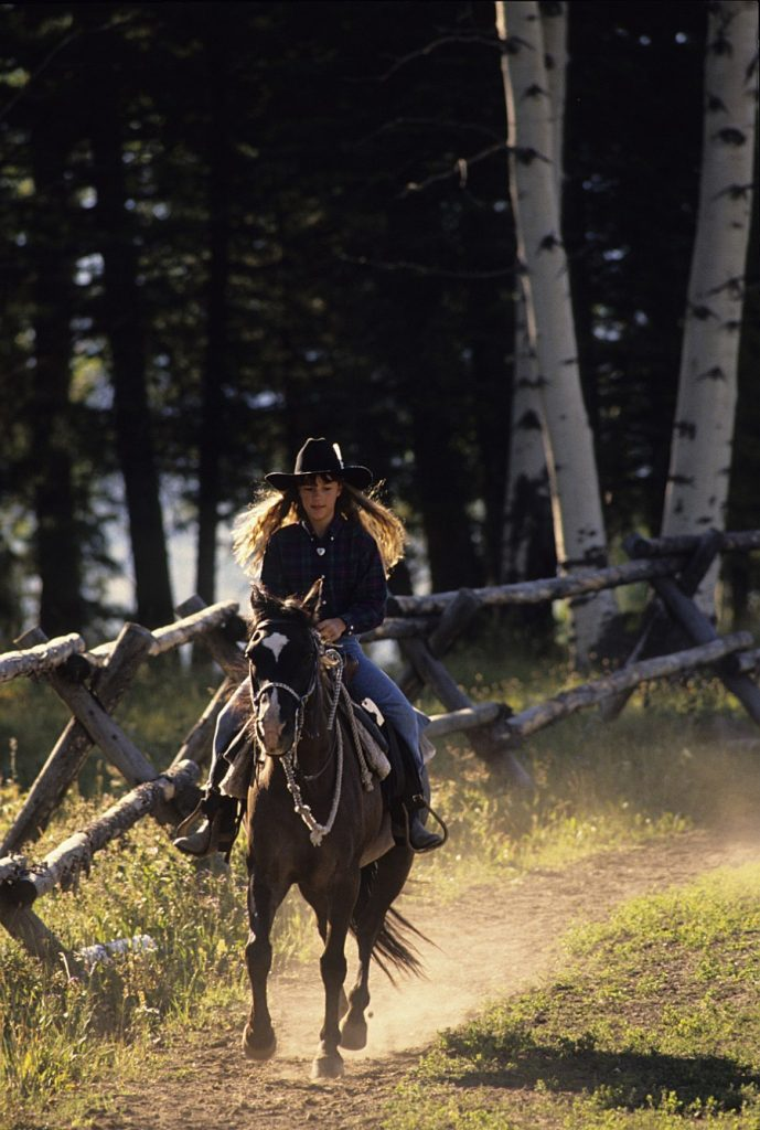 Horseback Riding in Montana's Yellowstone Country