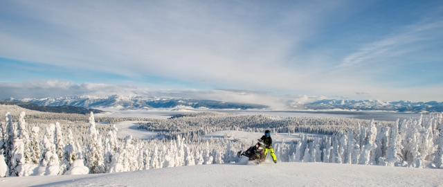 Sled The West Montana S Snowmobile Mecca Yellowstone Country Montana