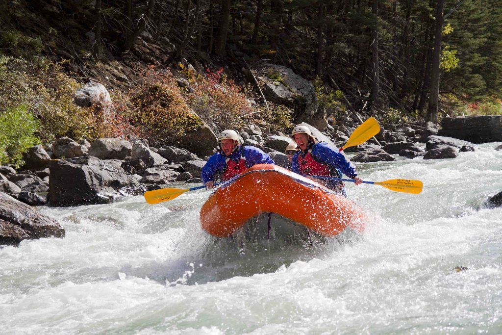 Whitewater Rafting in Yellowstone Country Montana near Yellowstone National Park