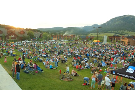 Music in the Mountains in Big Sky, Montana